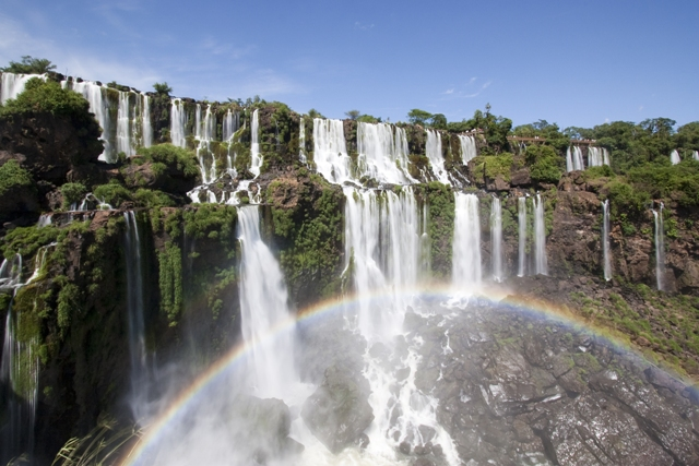 A photo of Iguazu Falls In Argentina