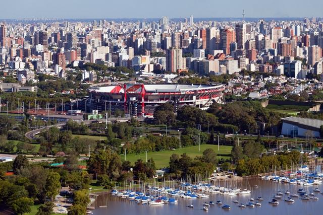 River Stadium Buenos Aires