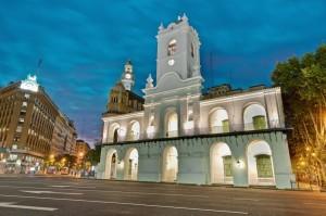 the cabildo in Buenos Aires