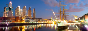 A photo of Puerto Madero Argentina