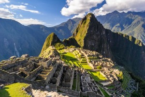 A photo of Machu Picchu Peru