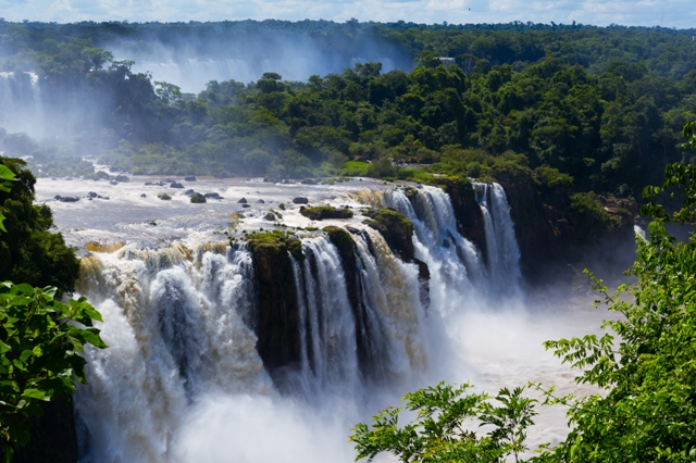 The Waterfalls at Iguazu Argentina