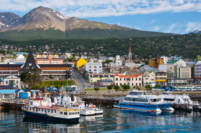 A photo of boats at Ushuaia Argentina