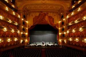 A photo of the colon theater in Buenos Aires